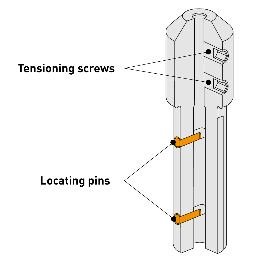 Clamping Adapter Round